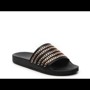 Steve Madden Chainz Slides